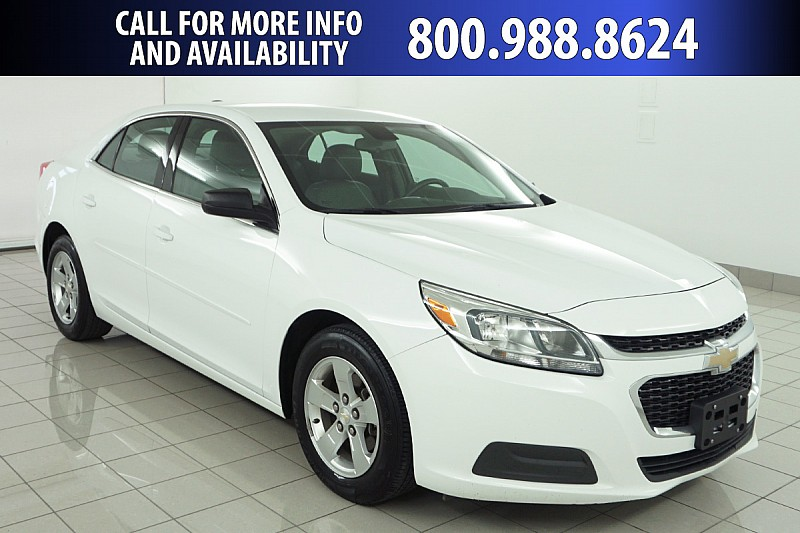 Pre Owned 2015 Chevrolet Malibu 4d Sedan Ls Front Wheel Drive Mid Size Car