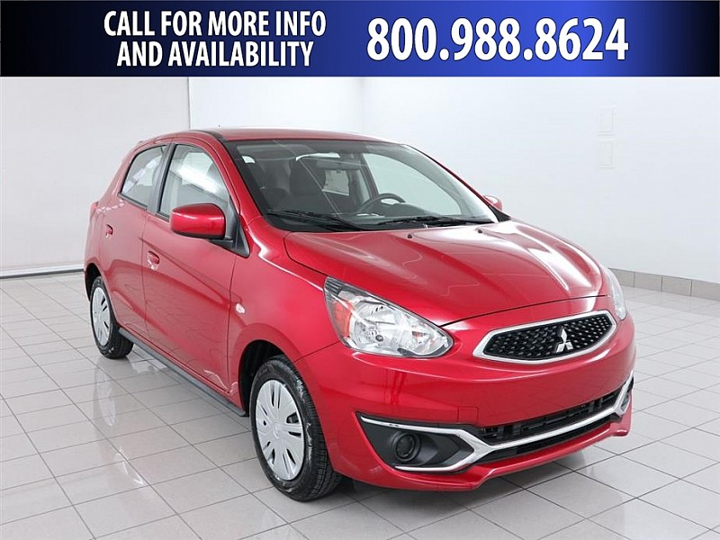 New 2019 Mitsubishi Mirage 4d Hatchback ES 5spd