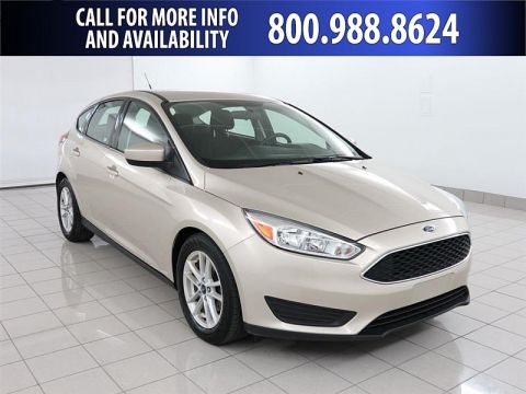 Pre-Owned 2018 Ford Focus 4d Hatchback SE Front Wheel Drive Compact Car