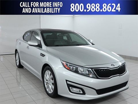 Pre-Owned 2014 Kia Optima 4d Sedan EX Front Wheel Drive Mid-Size Car