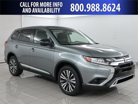 New 2019 Mitsubishi Outlander 4d SUV FWD ES Front Wheel Drive Compact SUV