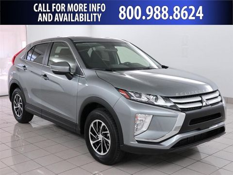 New 2020 Mitsubishi Eclipse Cross 4d SUV FWD ES Front Wheel Drive Compact SUV