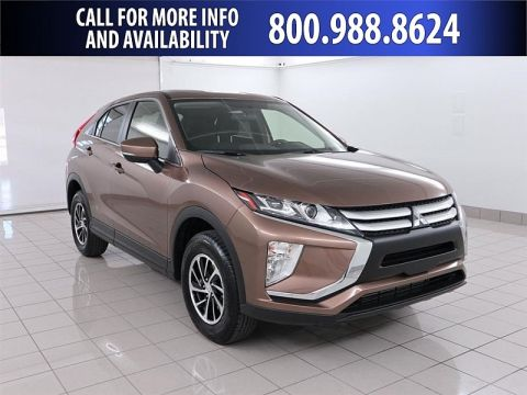 New 2020 Mitsubishi Eclipse Cross 4d SUV AWC ES Four Wheel Drive Compact SUV