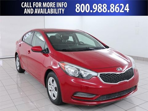 Pre-Owned 2016 Kia Forte 4d Sedan LX Auto Front Wheel Drive Mid-Size Car